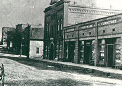 Downtown Waxhaw (1908)